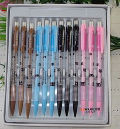 10 pc cute cat mechanical pencil with free gift