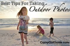 Best Tips For Taking Great Outdoor Photos PLUS A Photo Book Giveaway