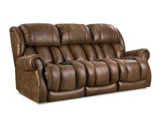 Double Reclining Power Sofa from HomeStretch