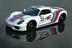 Porsche 918 Spyder Martini Racing