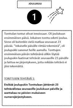 Varhaista Aikaa - Varhaiskasvatuksen Aikaa: Tonttulan tontut - joulukalenteri 2020 (osat 1-6)