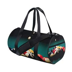 3cad75be4430 Brighter Billiard Ball Sport Fitness Sports Bags Gym Bag Travel Duffel Bag  for Mens and Womens