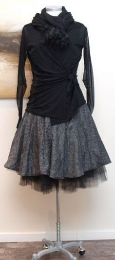 stilecht - mode für frauen mit format... - rostfrei by a. röstel - Kleid Stripes - Sommer 2013