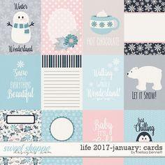 Life 2017-January Cards by Melissa Bennett