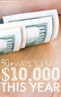 30+ Ways To Save Money Each Month