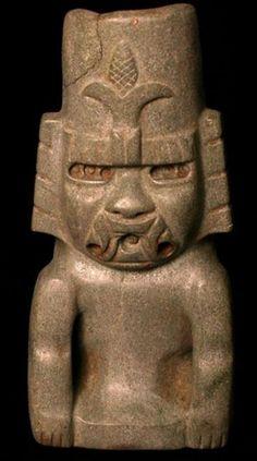 Dioses reptilianos 2 :: El Libertario, figura Olmeca, 900 a 500 A.C.