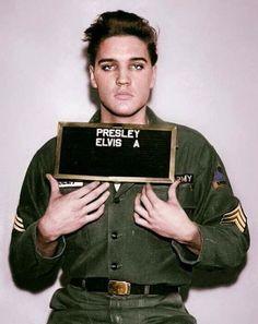 Elvis Presley en el ejército