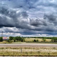 West Texas sky. Photo by Michelle Schwager Hanks. May 2012