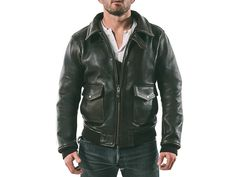 Satchel & Page leather bomber jacket with removeable shearling collar. Made Calfskin, tartan lining, and YKK zippers. Bomber Jacket, Leather Jacket, Jackets, Men, Ideas, Fashion, Studded Leather Jacket, Down Jackets, Moda