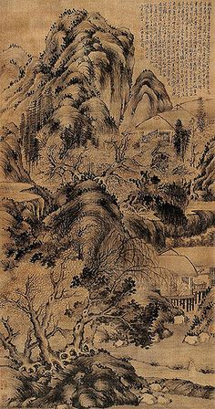 Painted by the Ming Dynasty artist Shen Zhou 沈周 View paintings, artworks and galleries at Chinese Art Museum. Learn about Chinese history and art at China Online Museum.