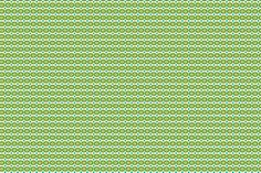 green gears with turquoise dots fabric by fleamarkettrixie on Spoonflower - custom fabric