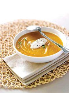 Pumpkin & Pineapple Soup