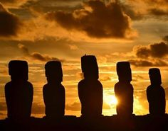 Ancient Easter Islanders Were Not Isolated And Alone - They Made Ocean Round Trips And Had Contacts With Native Americans