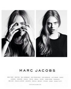 Have always love Marc Jacobs' advertisement layout! It's simple, clean, and the font is clear, their advertisement can be quite quirky sometimes.