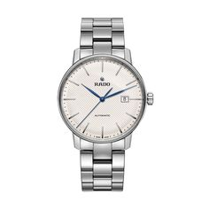 Rado Watch Coupole Classic White XL Watch available to buy online from with free UK delivery. Dad Of The Year, Rado, Beautiful Watches, Automatic Watch, Classic White, Seiko, Luxury Watches, Bracelets For Men, Fathers Day Gifts