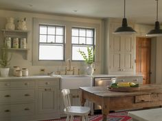 traditional kitchen by Rafe Churchill: Traditional Houses