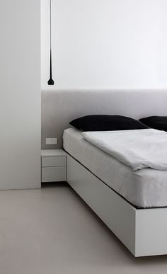 white  Bedroom White Bedroom, Mattress, Interior, House, Furniture, Home Decor, Indoor, Home, Haus