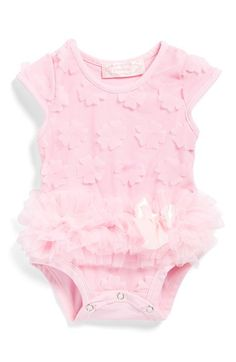 Popatu+Flower+Petal+Bodysuit+(Baby+Girls)+available+at+#Nordstrom