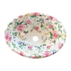 My dream sink...Chintz Garden Fluted Drop-in