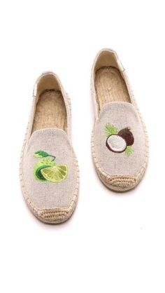 Soludos Embroidered Smoking Slipper Espadrilles |