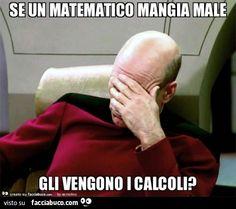 Se un matematico mangia male gli vengono i calcoli?
