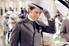 A young Jeremy Brett as Freddie in 'My Fair Lady'.