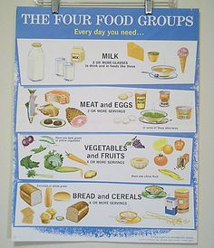 Image result for 1956, the USDA food pyramid