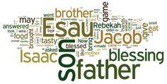 Genesis 27 (NIV) - The Bible in Wordle Form