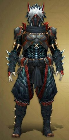 Nargacuga Armor Cosplay plans | Monster Hunter Amino