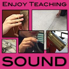 Enjoy teaching sound to your third, fourth, and fifth grade students! Check out these engaging activities, links, and freebies.