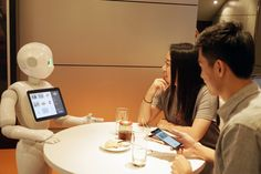 Pizza Hut Tests a Humanoid Robot Cashier
