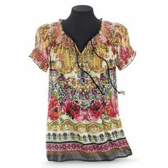 Leila Smocked Top - Women's Clothing & Symbolic Jewelry – Sexy, Fantasy, Romantic Fashions