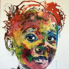 Nelson Makamo- I like the colors and uniqueness of this painting