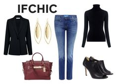 """""""#ifchic"""" by realitybytes85 ❤ liked on Polyvore featuring Oliver Peoples, Atea Oceanie, M.i.h Jeans, Dee Keller, Coach, Fragments, ifchic and worldwideshipping"""