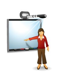 using a smart board with the socrative student response system is rh pinterest com interactive smartboard clipart Journal Clip Art