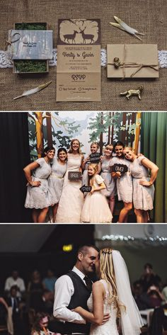 A Rustic Village Hall Wedding With A Blue And Gold Colour Scheme And Stag Graphic Across The Stationery With Bride In Bespoke Dress By Chic Dress And Groom In Brown Suit With Bridesmaids In Baby Blue Dresses With Broderie Anglaise Detail 9 Loving Without End.