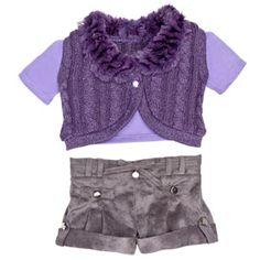 Mackenzie's build-a-bear bunny outfit