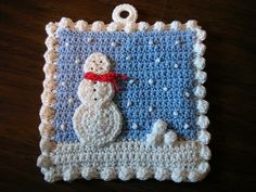 Crochet: Christmas Potholder