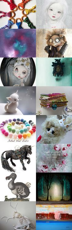 Colo(u)r, Colo(u)r, Whimsy and Wonder by Julie Sumerta on Etsy--Pinned with TreasuryPin.com
