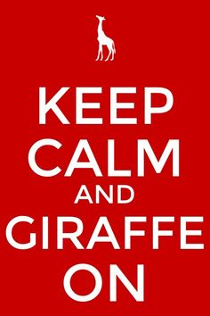 Giraffe on!