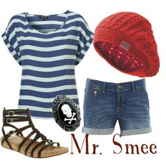 Mr. Smee Inspired Chica Outfit! - heh. i just like the outfit!