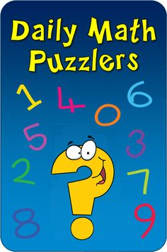 Laura Candlers Daily #Math Puzzler Program - A complete problem-solving program that kids love! Four levels available so you can differentiate instruction. $ Download free samples and preview all four ebooks from this page to see which levels are right for your students.