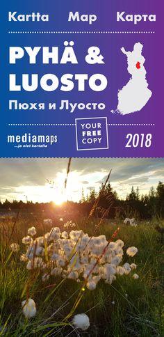 Uusi Mediamapsin Pyhä & Luosto -kartta on ilmestynyt