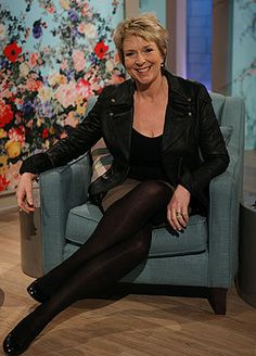 Fern Britton has made up with former This Morning co-host Phillip .