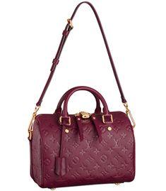 Celebs And Bags #70 – Louis Vuitton Monogram Empreinte Speedy25 Bandouliere & Sarah Jessica Parker