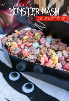 White Chocolate Monster Mash Crunch Mix !