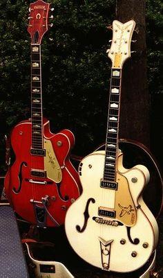 I love Gretsch Guitars, especially the White Falcon