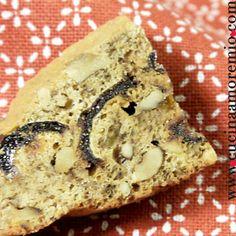 cucinaamoremio: Trancetti di datteri e noci Banana Bread, Menu, Cooking, Cake, Desserts, Food, Menu Board Design, Kitchen, Tailgate Desserts