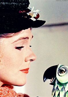 Practically perfect in every way...so perfect that she won the Oscar that year! Mary Poppins 1964