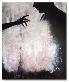Title: Broken .     Size : 47.2''X39.4'' , (120X100cm) .  Medium: acrylic on canvas . Year: 2015 .  © art of Ioannis Tsaousidis